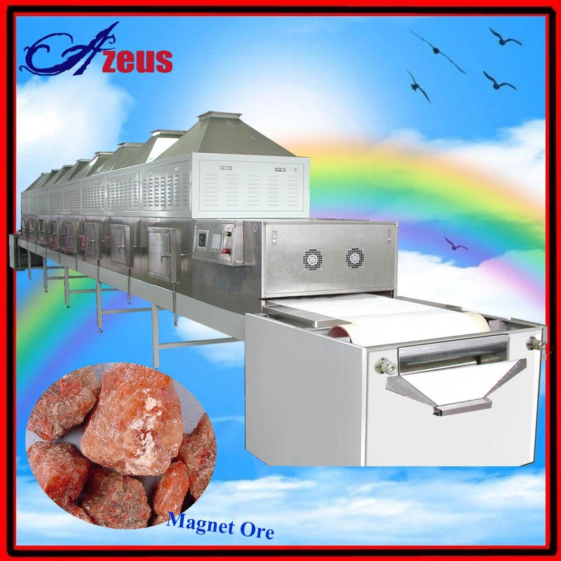 Stainless steel industrial microwave dried fruit sterilizer/microwave dryer