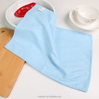 Cheap Price Wipe The Hood Washing Cloth Sided Coral Cashmere Glass Dish Washing Cloth