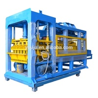 QT12-15 fully automatic cement bricks plant