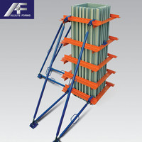 New Design plastic pp concrete columns formwork for column