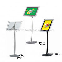 Illuminated LED Acrylic Menu board stand