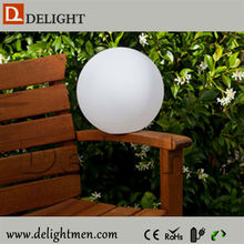 Hot selling cheap 35*35*35cm outdoor light ball with LED lights/LED light up sphere