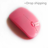 High Quality 2.4G ultra thin 3D wireless mouse for drop shipping and warehousing