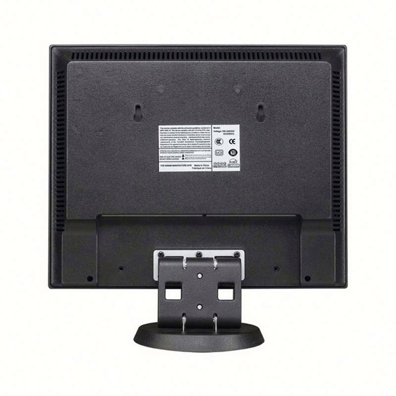 Popular model plastic case led 10.4 inch cctv monitor 800*600 test monitor cctv TFT LCD monitor