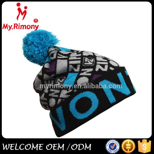 Best Sale Custom Dobby Knitting Winter Crochet Hat - Buy ...