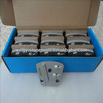 PCD grinding tool for epoxy removal