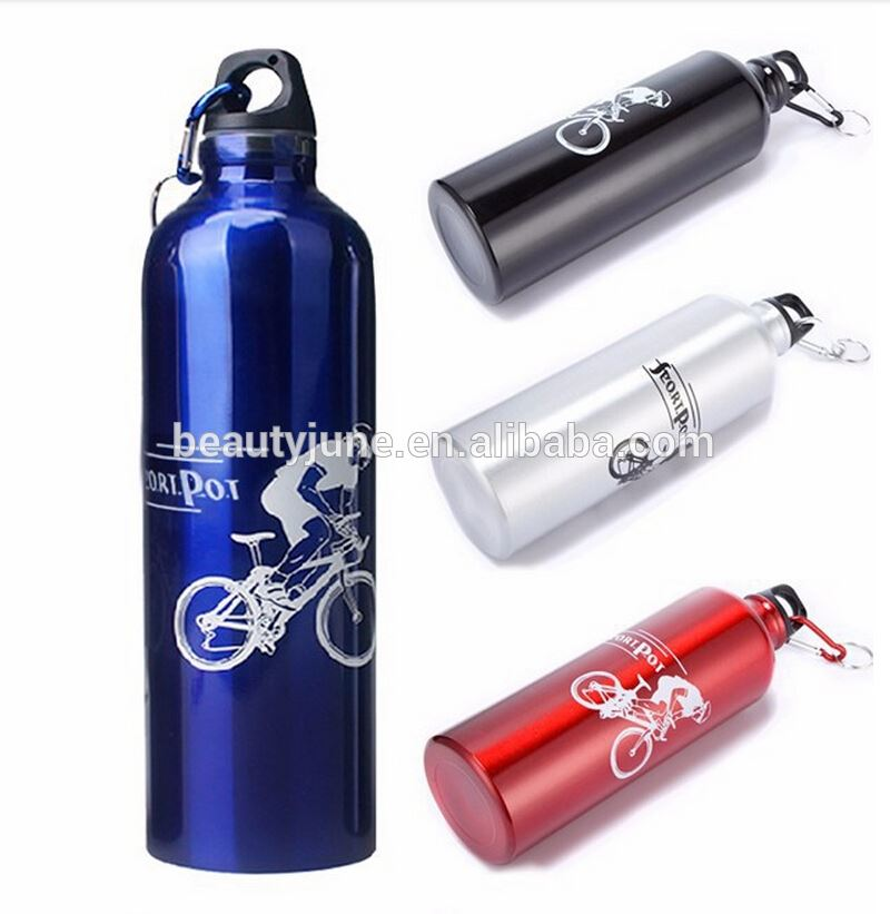 Bike Bicycle Cycling Stainless Steel Aluminum 750ML Outdoor Sports Water Drinking Bottle,blank aluminum water bottles wholesale