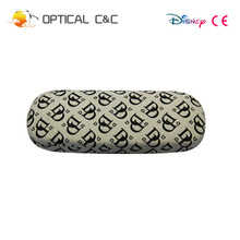 Durable protect frame high quality pu leather customizable logo customize glasses case
