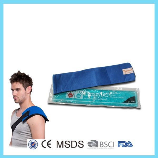 therapy gel compress reusable Medical Nylon hot cold packs for sports injuries