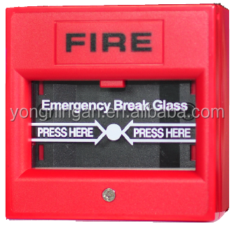 UL Listed Conventional Emergency Door Release Break Glass Manual Call Point