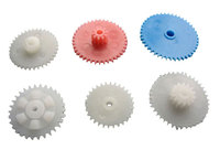 customized plastic helical gear and plastic gear
