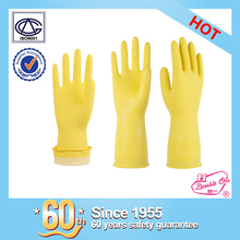 wholesale garden rubber safety work latex household cleaning glove with CE certificate