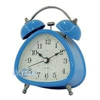 Metal Double bell alarm Clock #6026