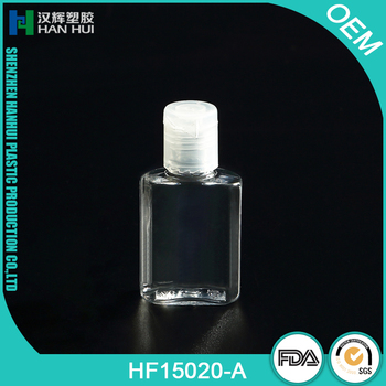 MINI TRAVEL SIZE PLASTIC HOTEL SHAMPOO BOTTLES