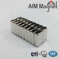 Super Strong Permanent Sintered Neodymium Block Magnet fast shipping date