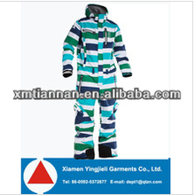2014 OEM mens brand name one piece snow suits
