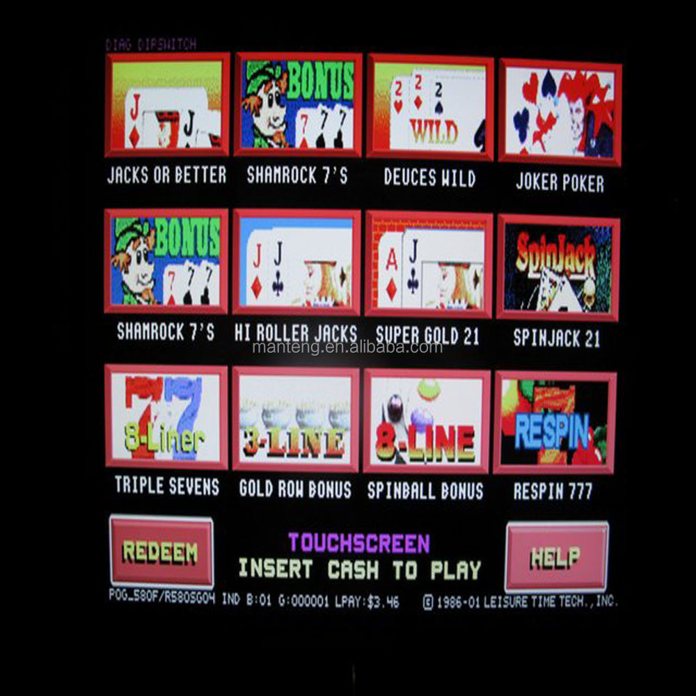 Pot O Gold Video Slotmachine 19 Quot Lcd Touch Screen