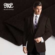 Alibaba supplier Low price OEM accept coffee best TR fabric for mens suit