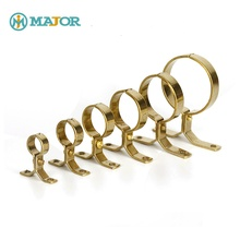 Guaranteed quality wall mount brass low price pipe clamp