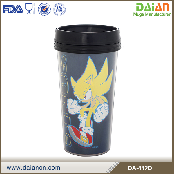Acrylic tumbler with removable insert wholesale