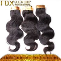 Different textures proffessional raw remy hair brand names