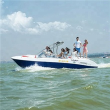 fiberglass sightseeing high speed yacht for sale