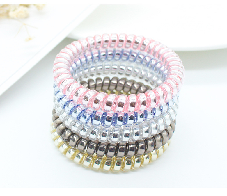 High Quality 12 Pcs Korean Cute Gift Sets Elastic Hair Rings  Rubber Elastic Band Pearl Bow Hair Ties set