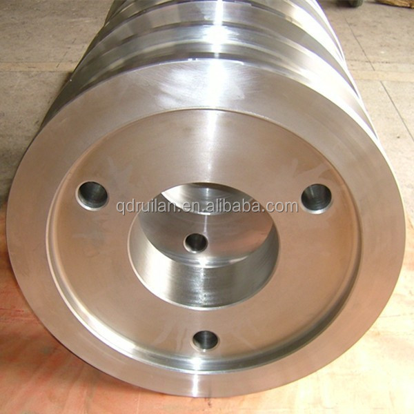 Railway wheelset Standard Cast iron ore cart wheel set, Narrow Gauge train wheel, UIC Certified