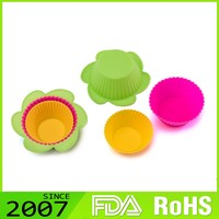 hot selling Cost Effective Tailored colorful silicone wholesale cake pans