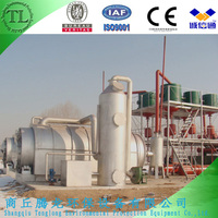 pyrolysis scrap waste tire and plastic plant whose buyers can get fuel oil