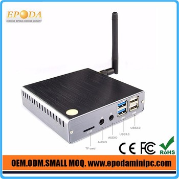 2017 Newest Fanless X86 Windows Z8350 Mini PC