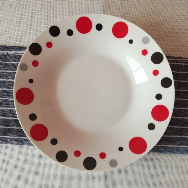 porcelain material hot sale cheap ceramic plates dishes