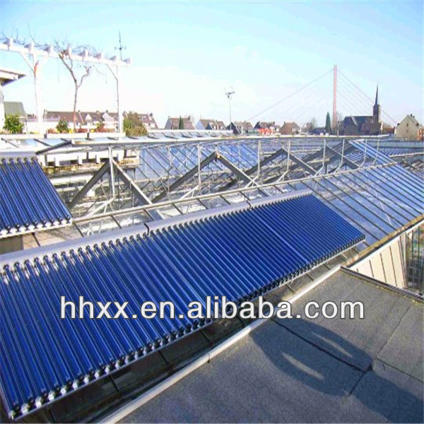 Seperated Evacuated Tube Heat Pipe Solar Collector