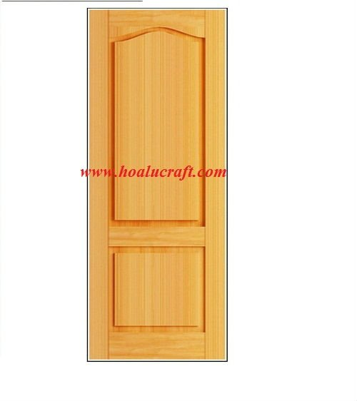 Oak wood door