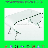 hot offer tempered curved glass panel for building projects