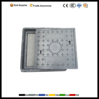 SMC composite Manhole Cover ,EN124 D400 composite polymer manhole cover prices