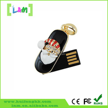 bulk Christmas gift santa claus shape usb flash drive with high speed