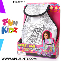 Kids Craft DIY Paint Your Own Street Bag Kits