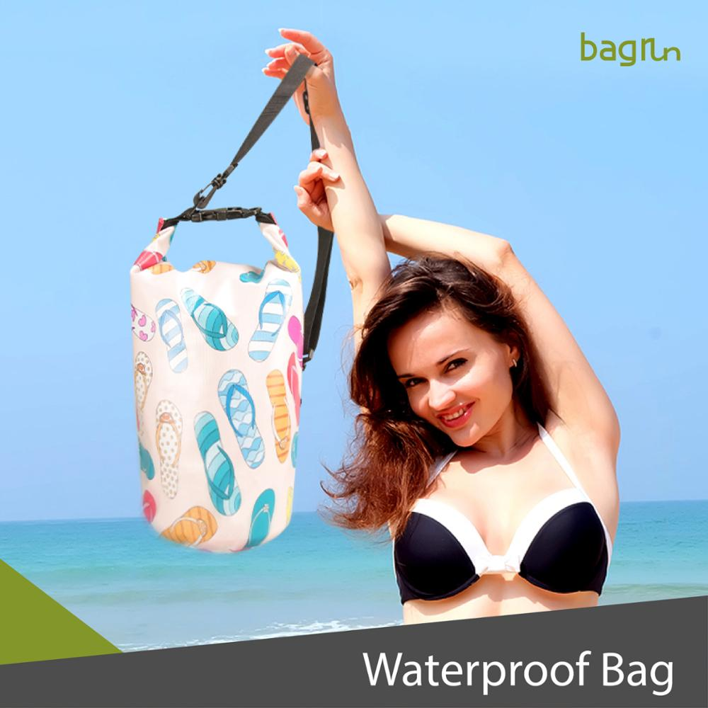 Fashion Design Custom Logo PVC Waterproof Dry Bag For Swimming