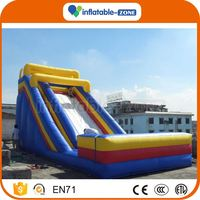Newest Concept the pine tree inflatable slide turtle inflatable slide