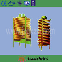 Light weight spiral screw chute with anti corrosion,moisture and rust protection function
