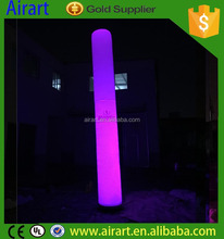 Advertising led light inflatable pillar/inflatable column/ inflatable tube