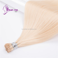 2017 new arrival human hair extension for your darling straight I tip hair alibaba stock cheap price