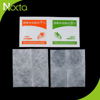 Mini pack wet&dry screen wipes customized