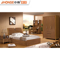 modern bedroom set / wooden walnut for childroom 6116#