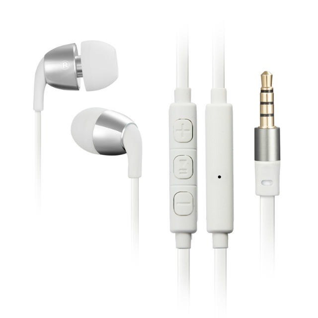 Wallytech W802 Intelligent Identification system Universal Volume for IOS and Android Metal earphones for iphone