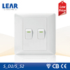Hot Sale! 2 gang switch similar to mk electric switch