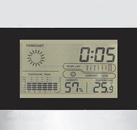 Electronic Weather Station with Large lcd Display