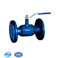 4 inch fully welded ball float valve with RPTFE sealed ball for Heating pipeline