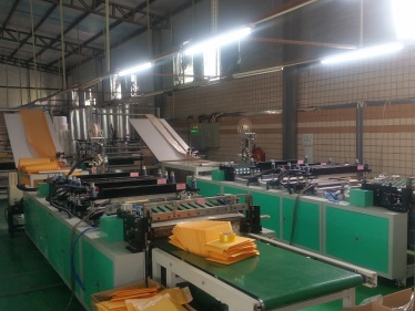 Automatic Laminating and Bag Making